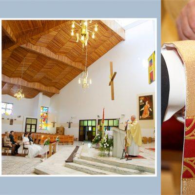 Kościół Dorota i Paweł - zdjęcia z uroczystości zaślubin