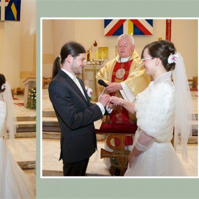 Dorota i Paweł zdjęcia z kościoła