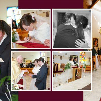 Podpisywanie dokumentów - ślub Doroty z Pawłem