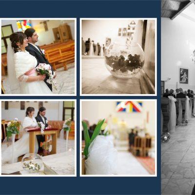 Dorota i Paweł - zdjęcia ślubne kościół Bytów Filipa Neri