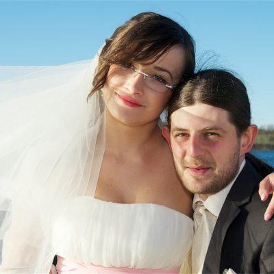 sesja ślubna nad jeziorem Doroty i Pawła